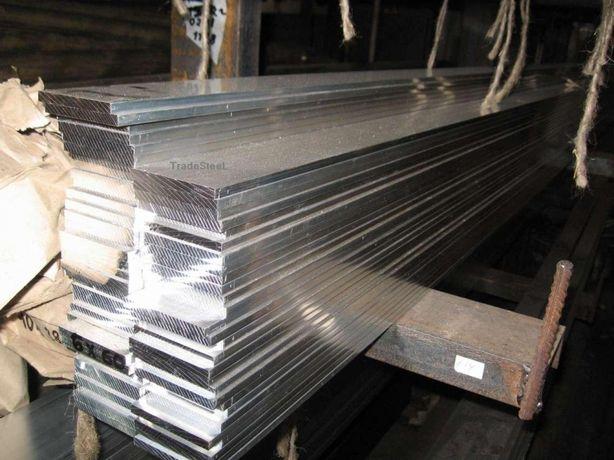 Шина алюминиевая, полоса 4х40х3000 мм АД0 5х50, 6х60, 8х80, 10х100