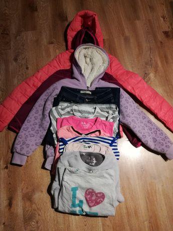 Kurtki, ubrania Zestaw wiosenny dla dziewczynki