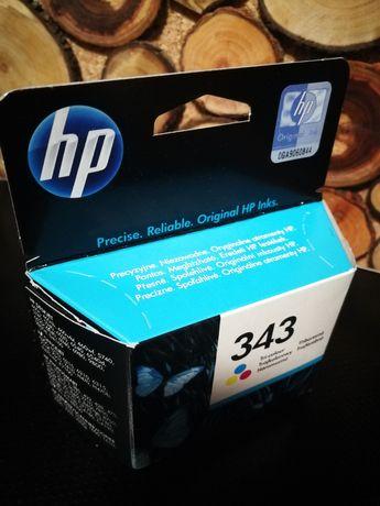 HP 343. Oryginalny wkład atramentowy, kolor