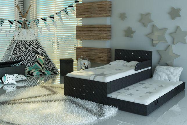 Łóżko dla dziecka,dziecięce w stylu GLAMOUR,Kryształki,DOSTAWA GRATIS