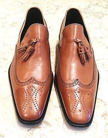 Sapatos Miguel Vieira cor de mel tamanho 43 loafers