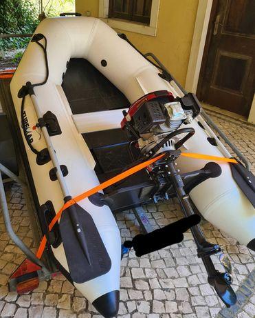 Barco motor 4t 5cv