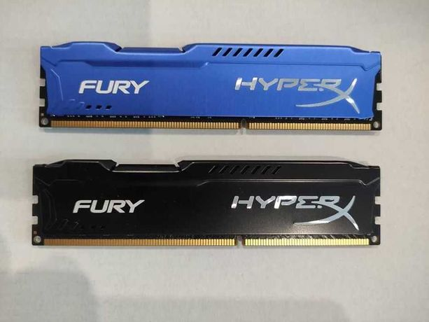 DDR3 Kingston HyperX Fury 8GB 1866Mhz 2 планки в наличии