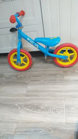 Rowerek biegowy dla chłopca