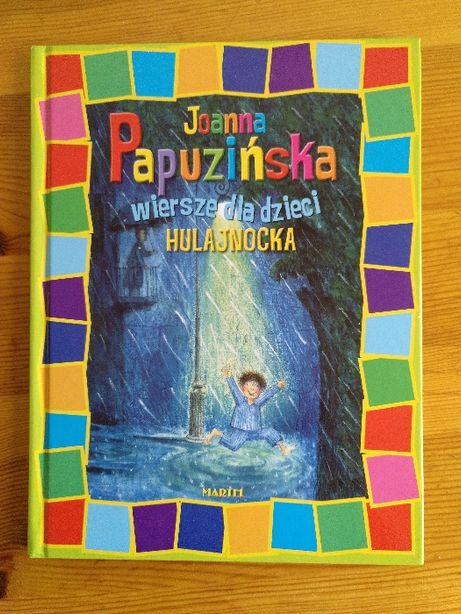 Książka dla dzieci: Joanna Papuzińska: Wiersze dla dzieci: Hulajnocka