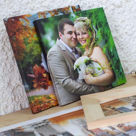 Картины на холсте   Печать фото на подрамнике   Портрет на Подарок