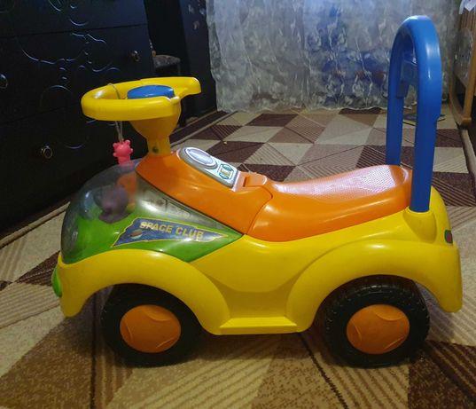 Машинка-каталка толокар Space club Bambi (Metr +)