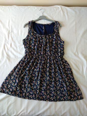 Sukienka letnia przewiewna r. 44 jak nowa Clockhouse