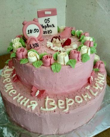 Кекси та торти на замовлення