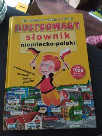 Ilustrowany słownik niemiecko-polski Siedmioróg