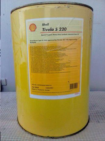 Масло индустриальное синтетическое трансмисионное Shell Tivela S 220