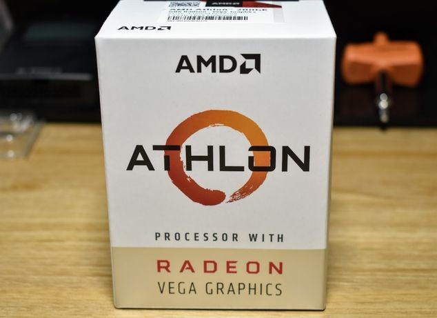 Компьютер для работы/учебы (Athlon 200GE,8Гб DDR4,120SSD,500HDD,450Вт)