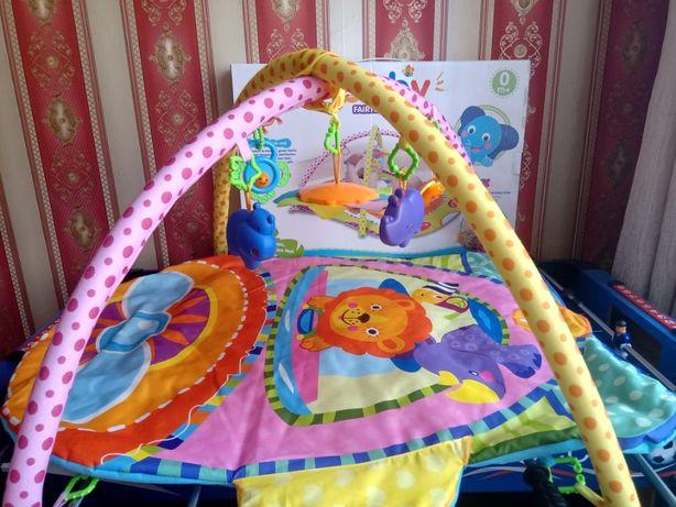 Развивающий коврик для ребенка с 0+