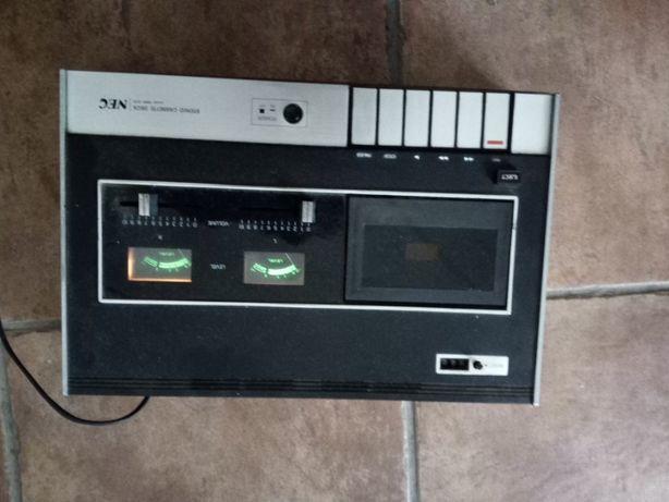 Stereo Cassete deck, leitor gravador