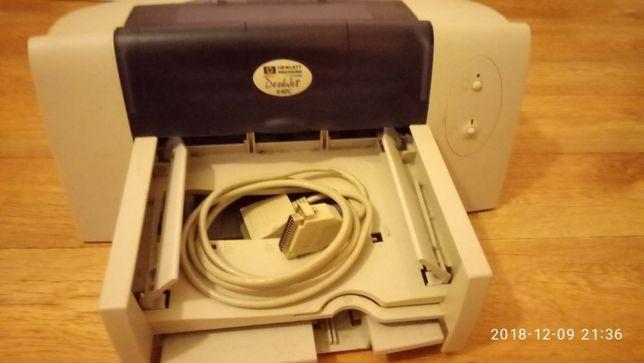 Продам цветной фото принтер Hewlett-Packard С6464А состояние нового.
