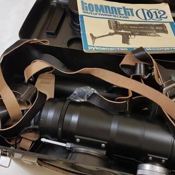 Фоторужье, комплект фотографический фс-12, объектив, кинокамера