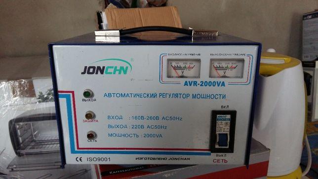 Стабилизатор напряжения Jonchn AVR- 2000 VA