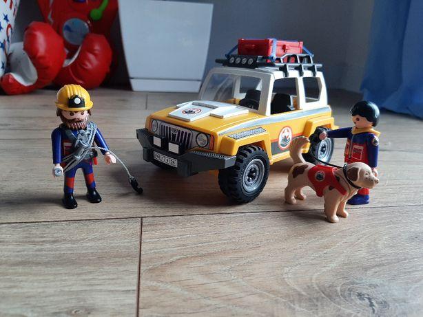 Playmobil 9128 GÓRY, Pojazd ratownictwa górskiego, Auto, Samochód