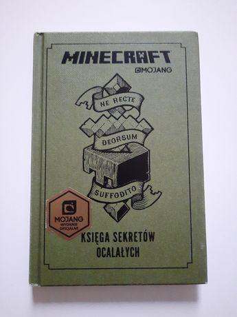Minecraft Księga Sekretów Ocalałych MOJANG wydanie oficjalne