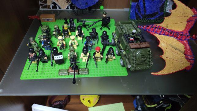 Лего военные фигурки(поштучно)