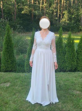 Suknia ślubna rozm. 38