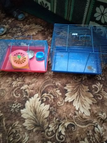 Клетки для животных. Цена за 2 шт