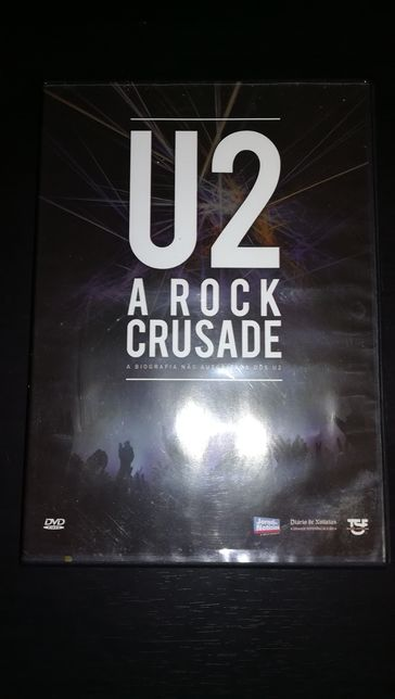 """DVD U2 """" A ROCK Crusade """" (COMO NOVO)"""