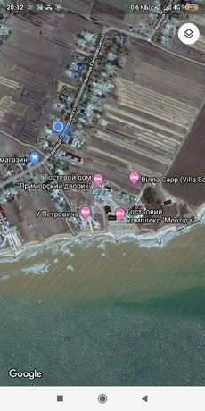 Продам участок земли.Азовское море.15с