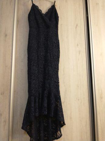 Piękna suknia o kroju syreny.