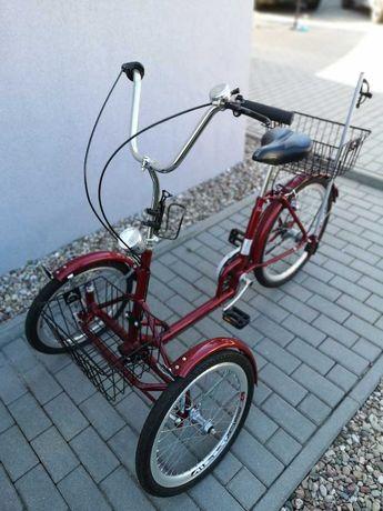Oryginalny rower trójkołowy do rehabilitacji. Unikalny egzemplarz!