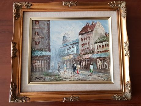 Obraz olejny Frances Hodgson Burnett