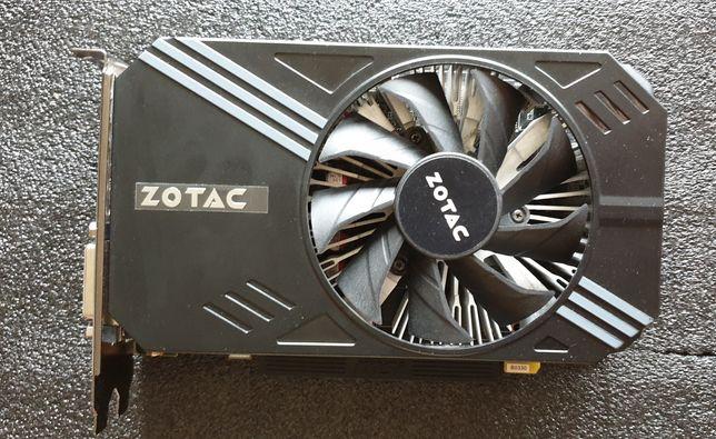 Karta graficzna ZOTAC GTX 1060,6GB MINI
