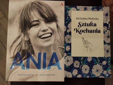 Książki Ania Przybylska i Sztuka kochania