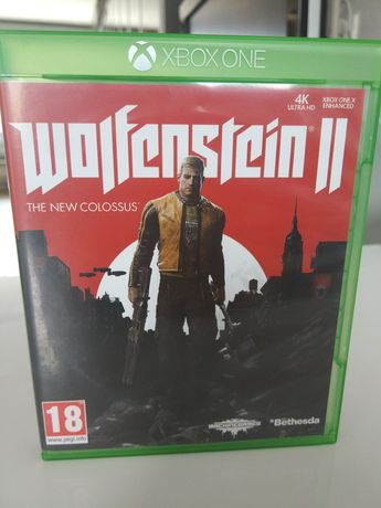 Wolfenstein 2 PL Xbox One Stalowa Wola