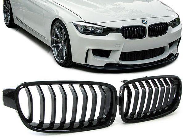 Решетка радиатора ноздри двойные BMW 2 3 4 5| F10 F30 F32 F34 F36 F07