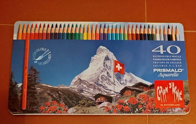 40 Lápis de cor Caran d'Ache Prismalo