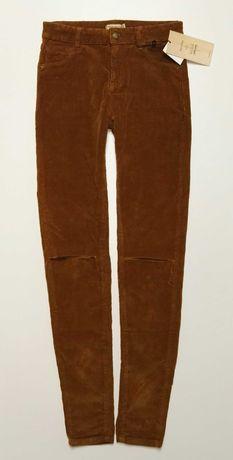 Bershka_NOWE spodnie welwet_R.XXS L-73CM