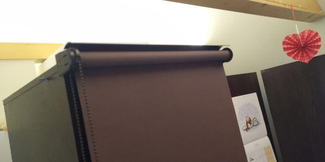 Roleta brązowa 50 cm