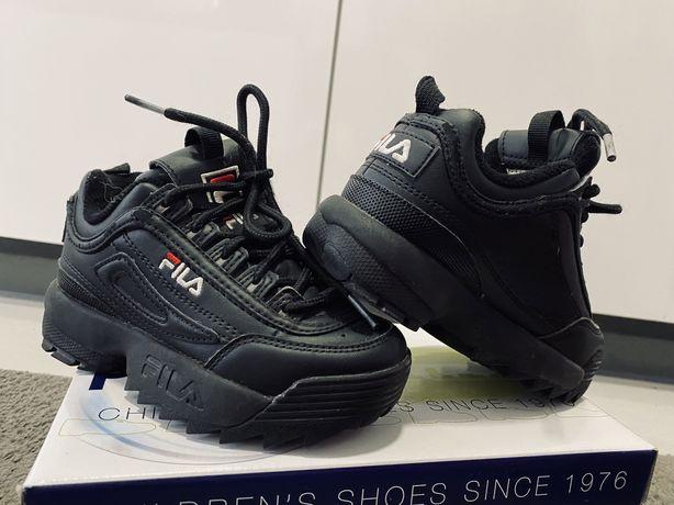 Buty FILA Disruptor kids rozmiar 28 czarne