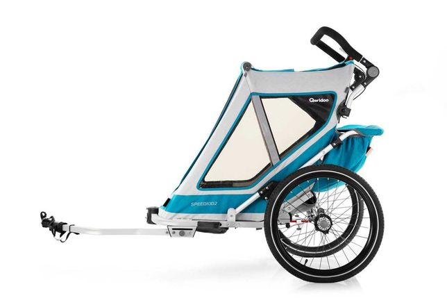 Przyczepka rowerowa Qeridoo Speedkid 2 2021