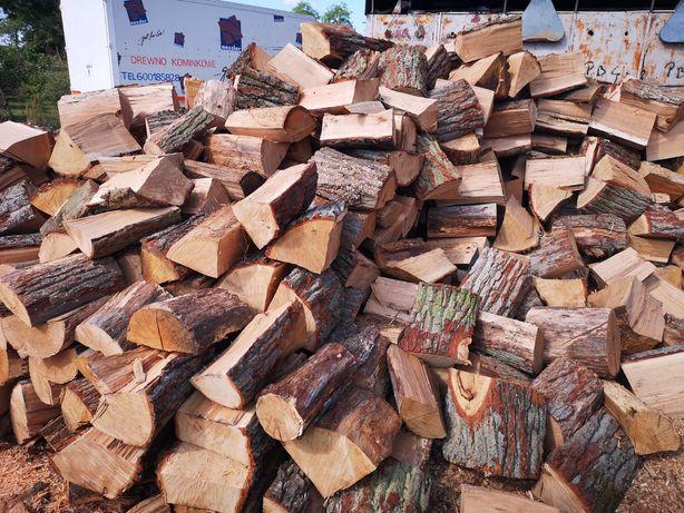 Drewno kominkowe opałowe układane cena za 1m buk dąb jesion