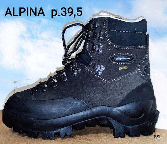 Ботинки трекинговые Alpina, р.39,5