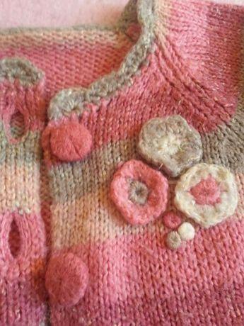 Lote vários casacos rosa quentinhos
