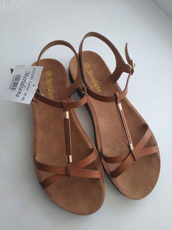 Женские босоножки сандалии цвет кэмел
