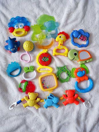 Gryzaki, akcesoria dla niemowląt