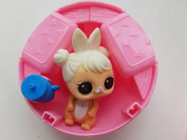 Зайка-Питомець для Ляльки LOL (рожевий шар)