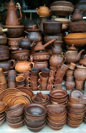 Посуда керамическая Керамика Глиняная Чашки Тарелки Кастрюля Кераміка