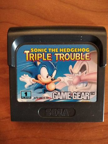 Sonic The Hedgehog Triple Trouble - Game Gear