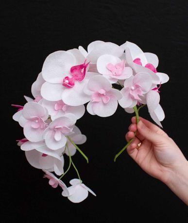 Вінок з орхідей ручної роботи