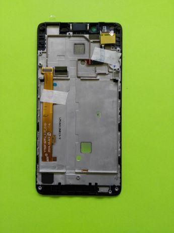 Тачскрин экран Lenovo A6000 модуль с рамкой, дисплей. Оригинал новый